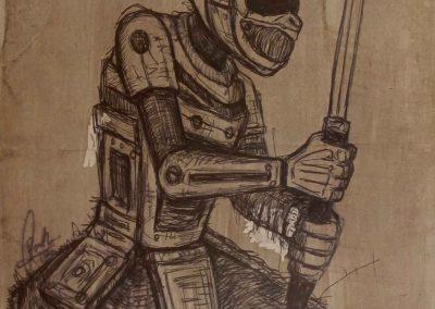 Christo Booth - Cyborg Samurai