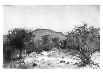 Hanien Conradie - Hill At Mogonye, Botswana